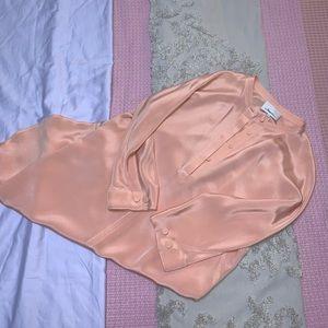NEW 3.1 Phillip Silk Lim Nude Shirt Dress